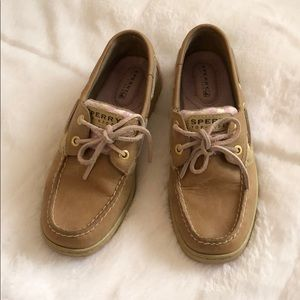Pink Sperry Top-Siders